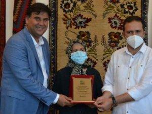 Fethiye'de Kaya Halısı ve Fethiye Kilimi Sergisi' açıldı