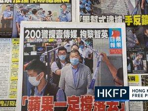 Hong Kong gazetesi Çin baskısını protesto için 500.000 kopya bastı