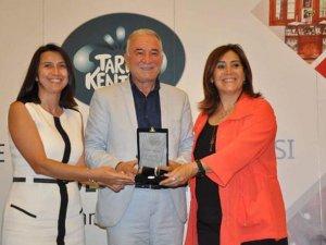 Manavgat Kent Müzesi TKB'den ''kent müzeleri '' dalında ödül adı