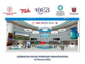 TÜROB'dan Azerbaycan Online Workshop organizasyonu