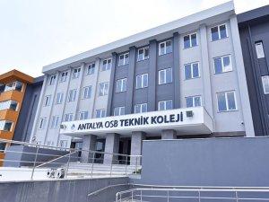 Antalya OSB Koleji mesleki eğitimde Türkiye'de bir ilk olacak!