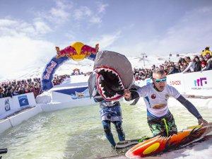 Erciyes'te Red Bull Kar Havuzu başlıyor