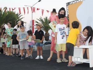 Alanya'da çocuklar 10 gün gönlünce eğlenerek bayrama girdi