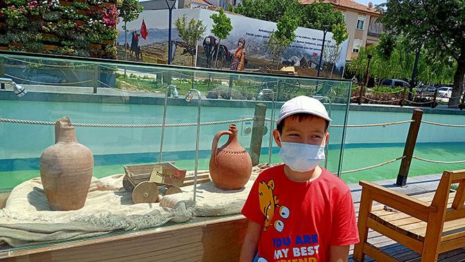 Yörük Müzesi, Yörük Türkmen hayatına ışık tutuyor.