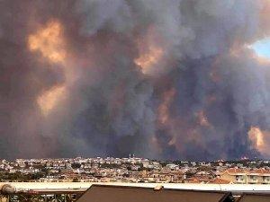 Manavgat orman yangınında 53 kişi olumsuz etkilendi