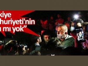 Bakan Çavuşoğlu, Manavgat'ta vatandaşların tepkisiyle karşılaştı