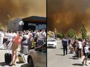 Bodrum alev alev yanıyor, otel ve evler boşaltılıyor