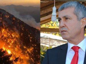 Şükrü Sözen: Yangındaprovokatörlere dikkat edelim