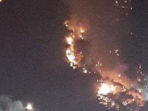 Bodrum'daki yangın Mazı Koyu'na sıçradı