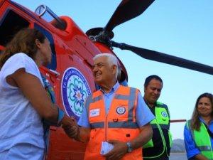 Muğla Belediyesi, 4.5 ton su kapasiteli helikopter getirdi