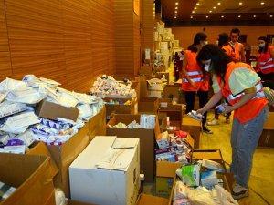 Manavgat Belediyesi'ndenzarar görenlere ilaç dağıtımı başladı