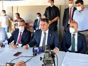 KKTC'de afetzedeler için 17 milyon lira toplandı