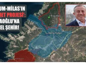 Ali Ağaoğlu'nun Milas'taki rant projesine bakanlıktan onay