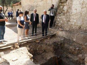 Tarihi Azize Meryem Kilisesi restore ediliyor