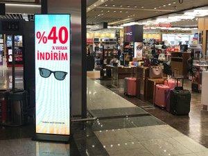 Sabiha Gökçen Havalimanı'nda yolculara alışveriş kampanyası
