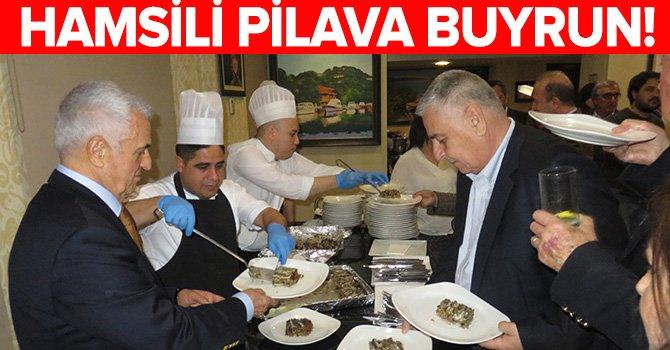 Hamsili Pilav partisi Skal İstanbul'un gözdesi