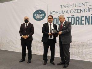 """İbradı Belediyesi'ne ''Koruma ve Özendirme Ödülü"""""""