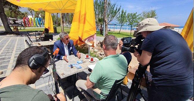 Efes antik kentinde kep töreni