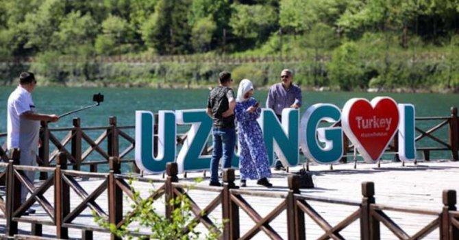 Gazipaşa'ya ilk yolcu uçağı indi