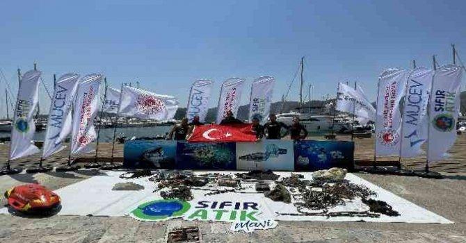 Karton gemiler yarıştı