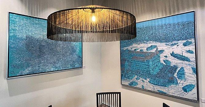 Sürgüne gönderilen inek şenlikte