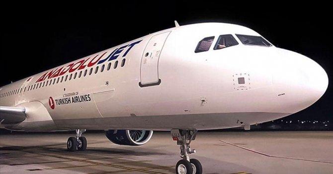 Pegasus'a 5 uçak 'Selin'
