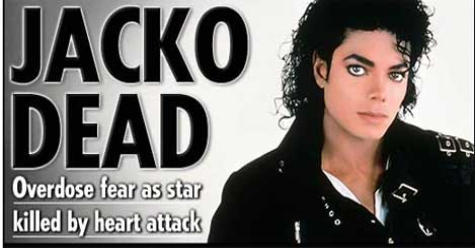 Michael Jackson öldü