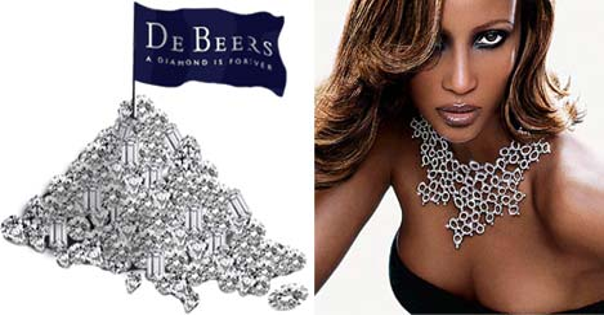 De Beers'in kârı % 99 geriledi