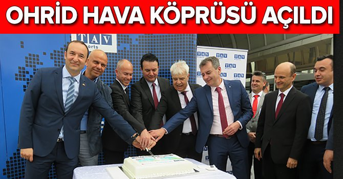 OnurAir ve TatilBudur.com İstanbul-Ohrid uçuşu başladı