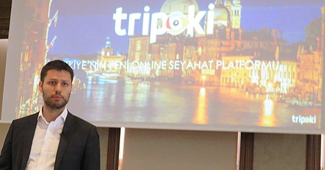 Ilgaz Bağlıkaya online acente Tripoki'yi açtı