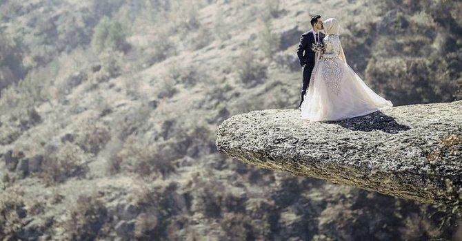 Sırçalı Kanyonu'nda 'taş teras'ta heyecan yaşanıyor