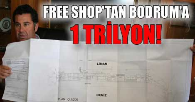 Bodrum Limanı'nda free shop
