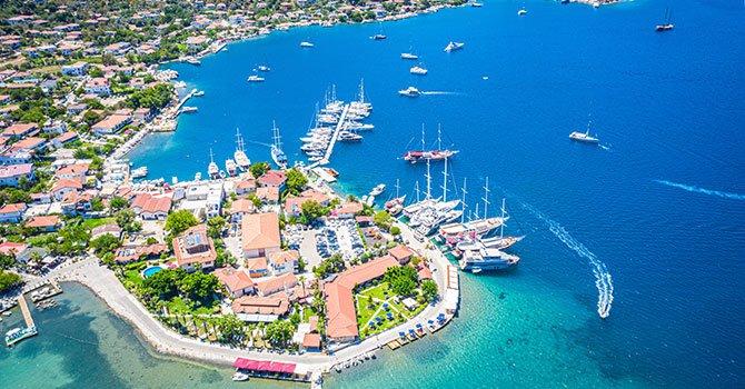 Dikili'de huzurlu tatil adaları