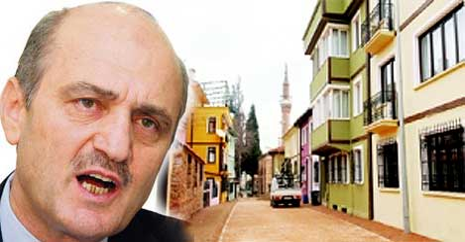 Osmanlı ve Selçuklu mahallesi