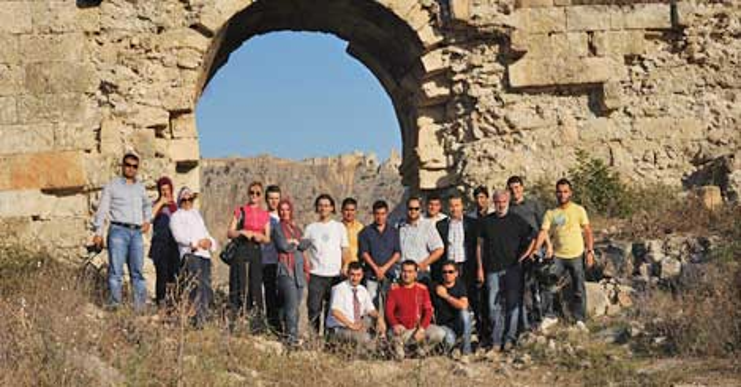 Gazetecilerin Kozan ziyareti