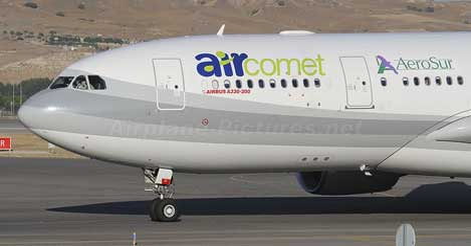 İspanyol Air Comet iflas etti