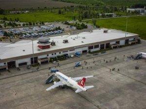 Samsun'da havayolu trafiği arttı