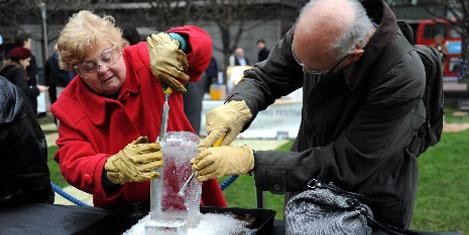 'Buzdan Heykel Festivali'