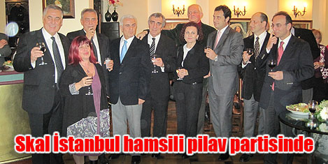 Skal İstanbul Hamsi'de buluştu