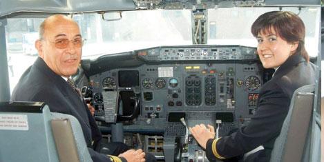 Türkiye'de  30 kadın pilot