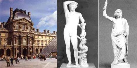 Louvre, Apollon-Jüpiter'i vermiyor