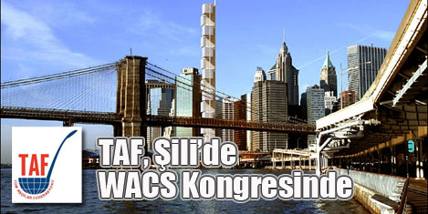 TAF, WACS kongresi için Şili'de