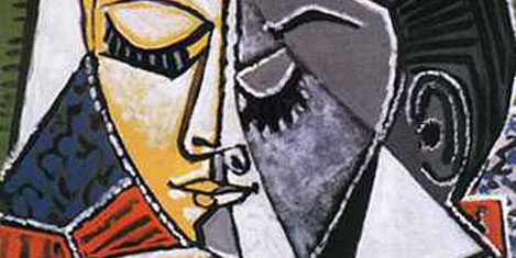 Picaso'nun tablosunu yırttı