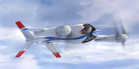 NASA'dan tek kişilik uçuş aracı