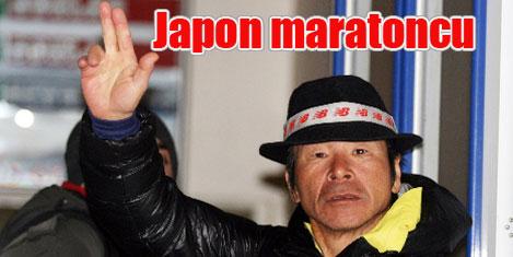 Japon maratoncu Zara'da