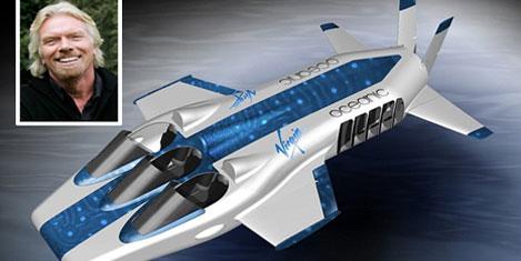 Dünyanın ilk denizaltı uçağı
