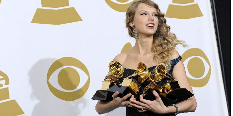 Grammy'de Taylor Swift'e 4 ödül