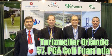 Turizmciler ABD Golf Fuarı'nda
