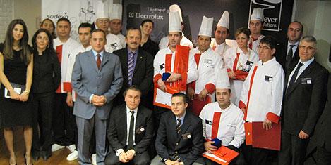 Sodexho'nun aşçıları yarıştı