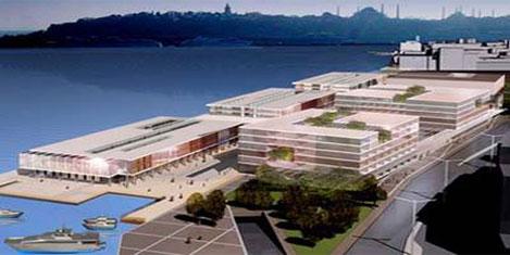Galataport, 5 aya kadar satılıyor